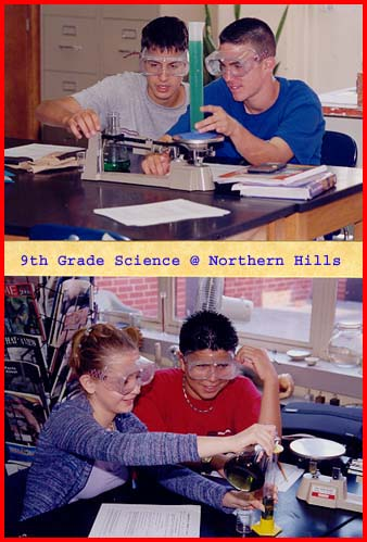 Northern Hills 9th Grade Science (August 2001)